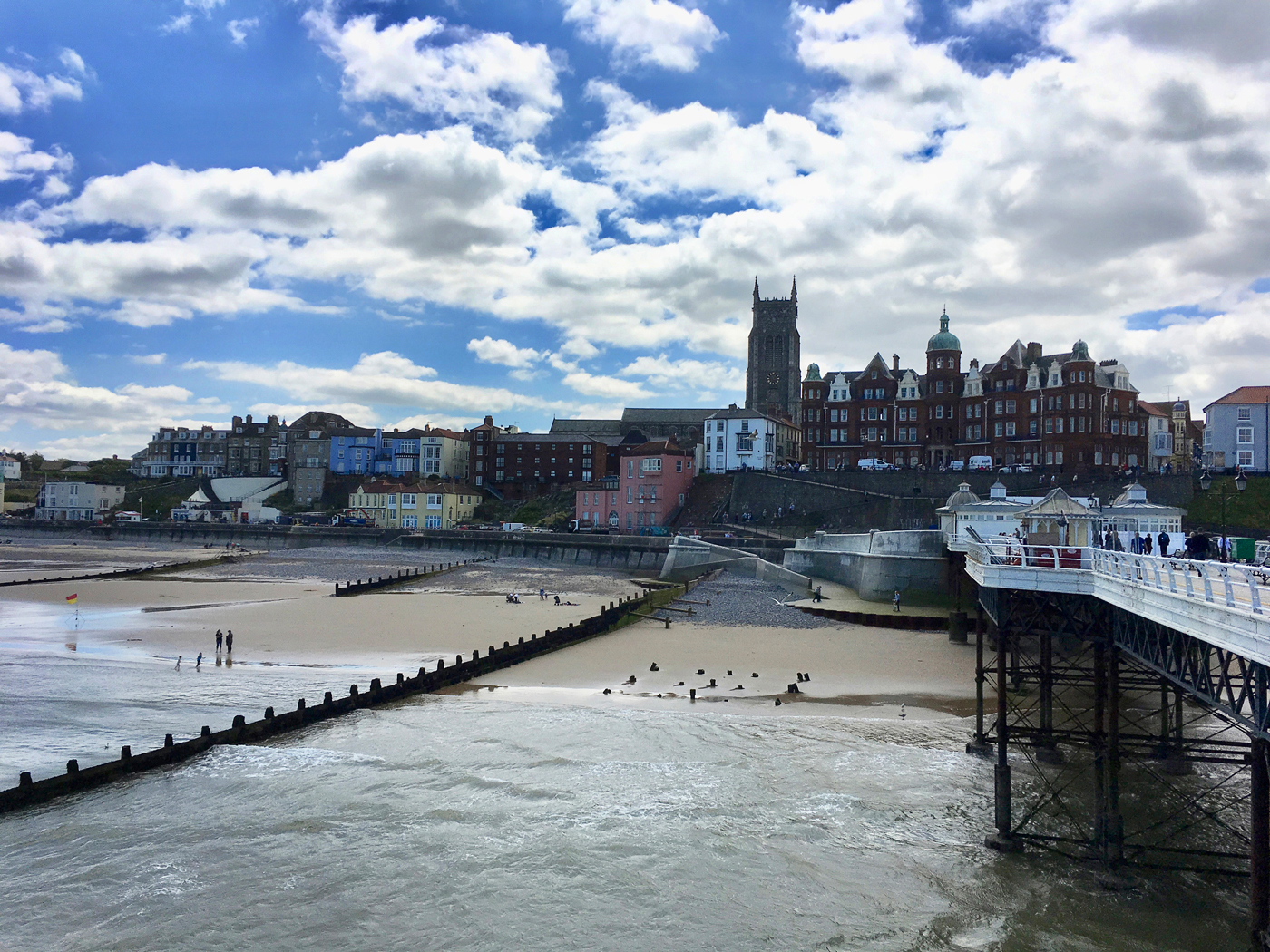 Cromer-from-the-pier-by-Fran-Grimsdell