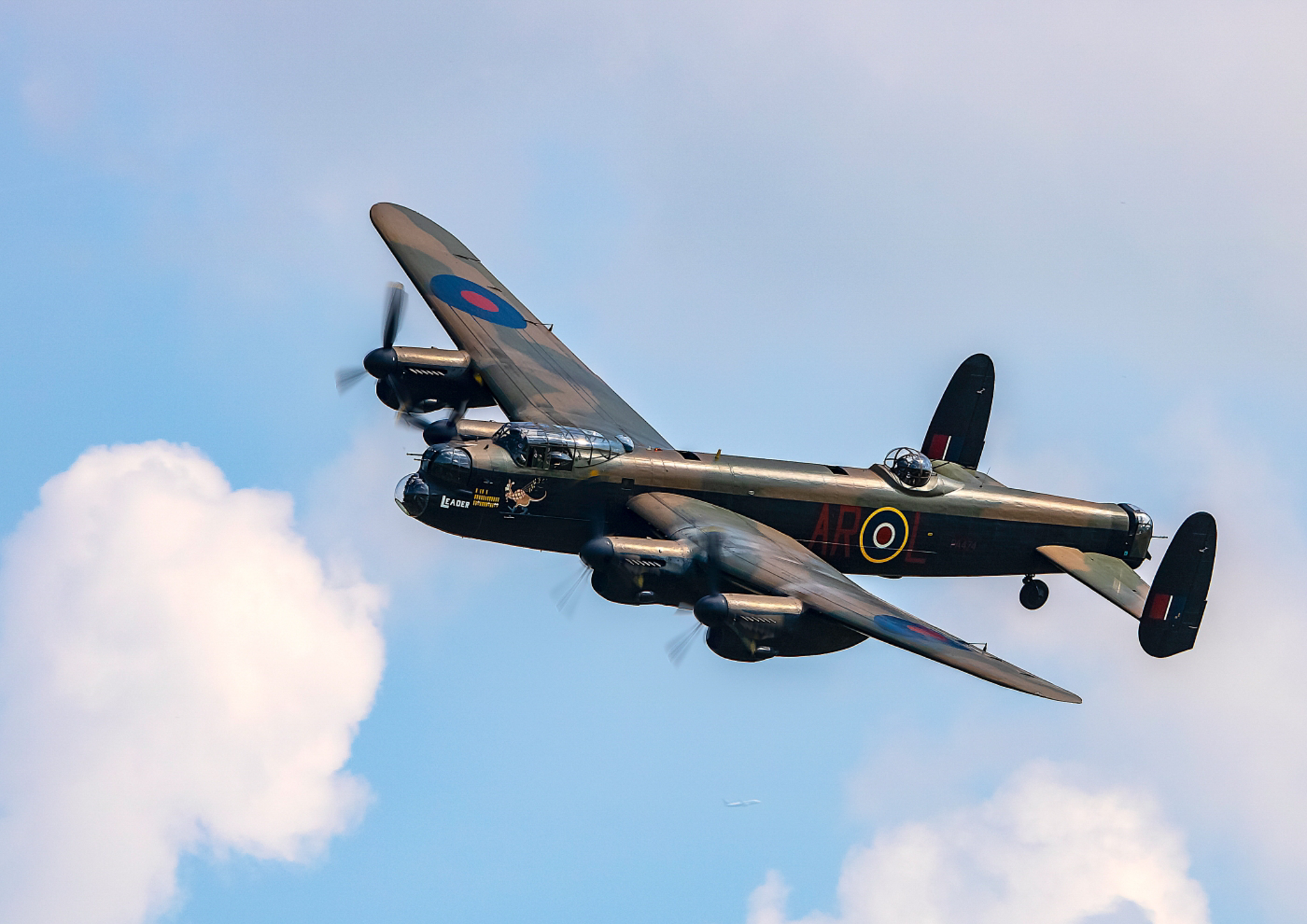 Avro Lancaster The Cream Of Manchester by Andy Mayall