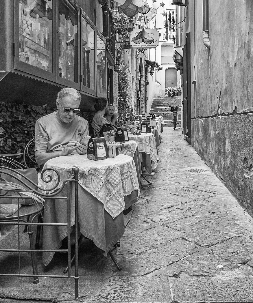 Alley in Sorrento Charles Phillips
